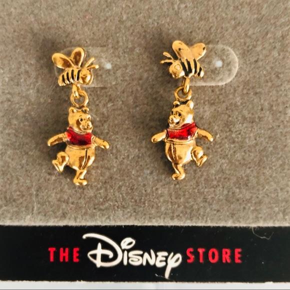 6647a45e1961b Disney Store Winnie The Pooh Dangle Earrings